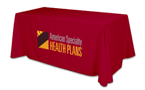Business Tablecloth With Logos