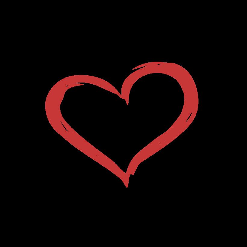 designer heart logos