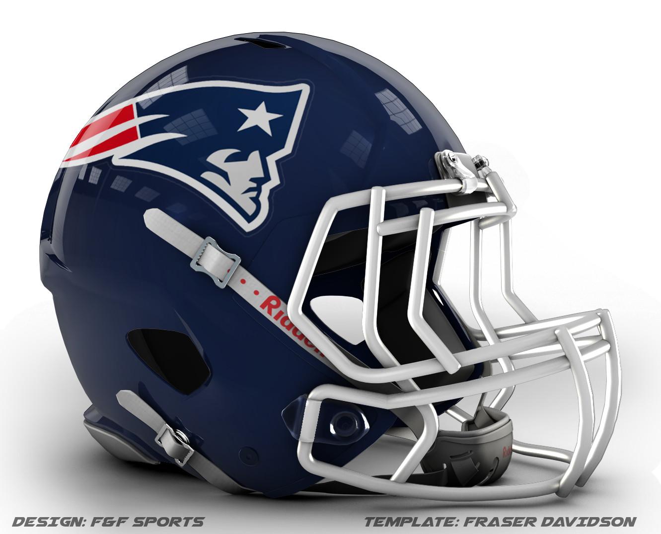 free football helmet template