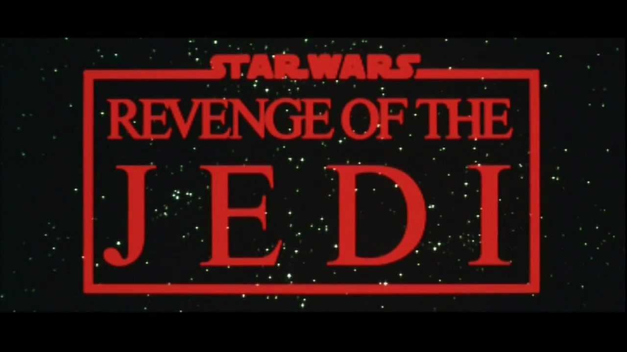 revenge of the jedi logos