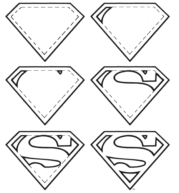 How To Draw Superman Logos
