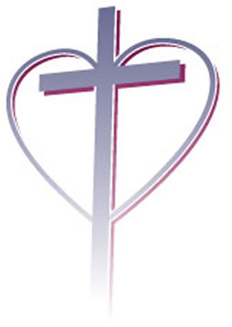 heart cross logos