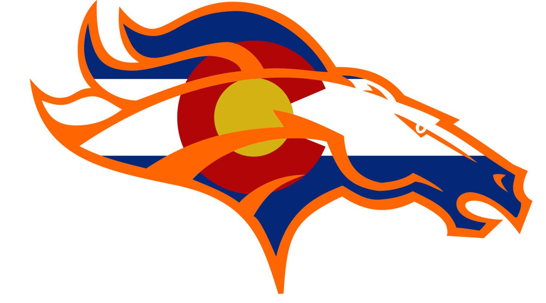 Denver broncos old Logos