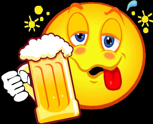 Drunk smiley face Logos