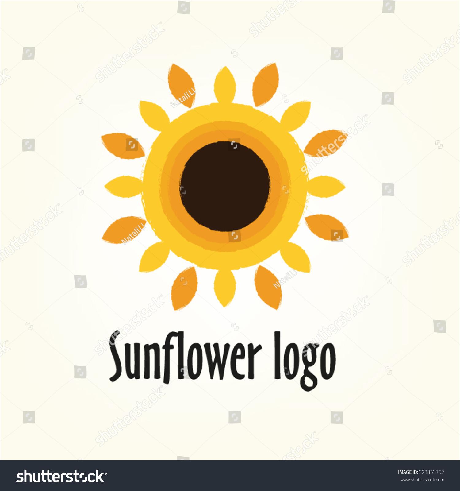 Yellow Flower Logos