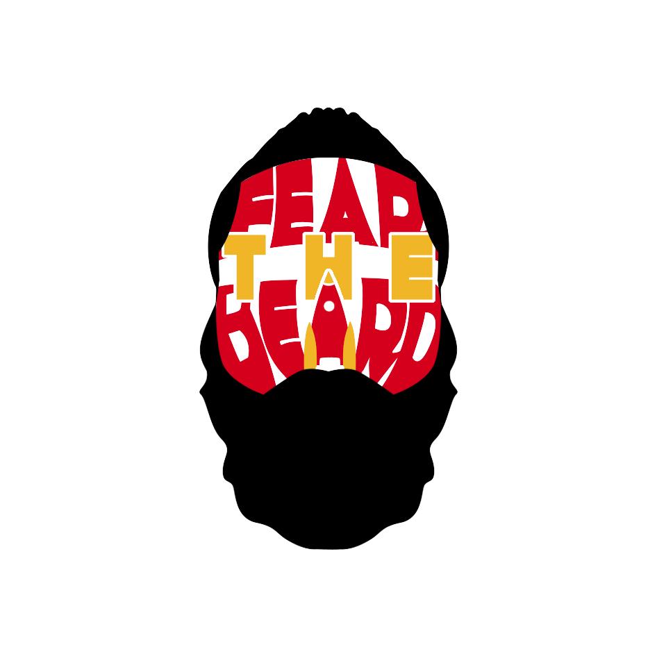 James harden fear the beard logo - photo#43