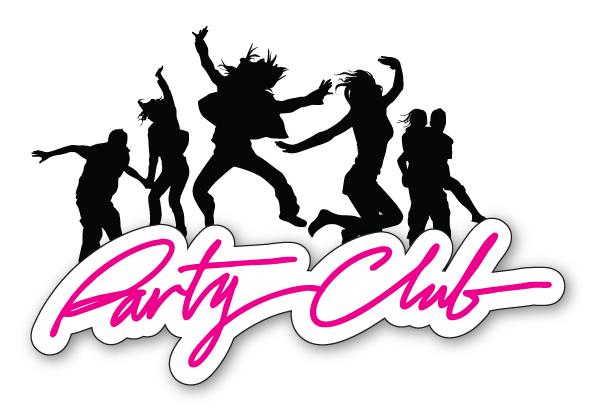 club party logos