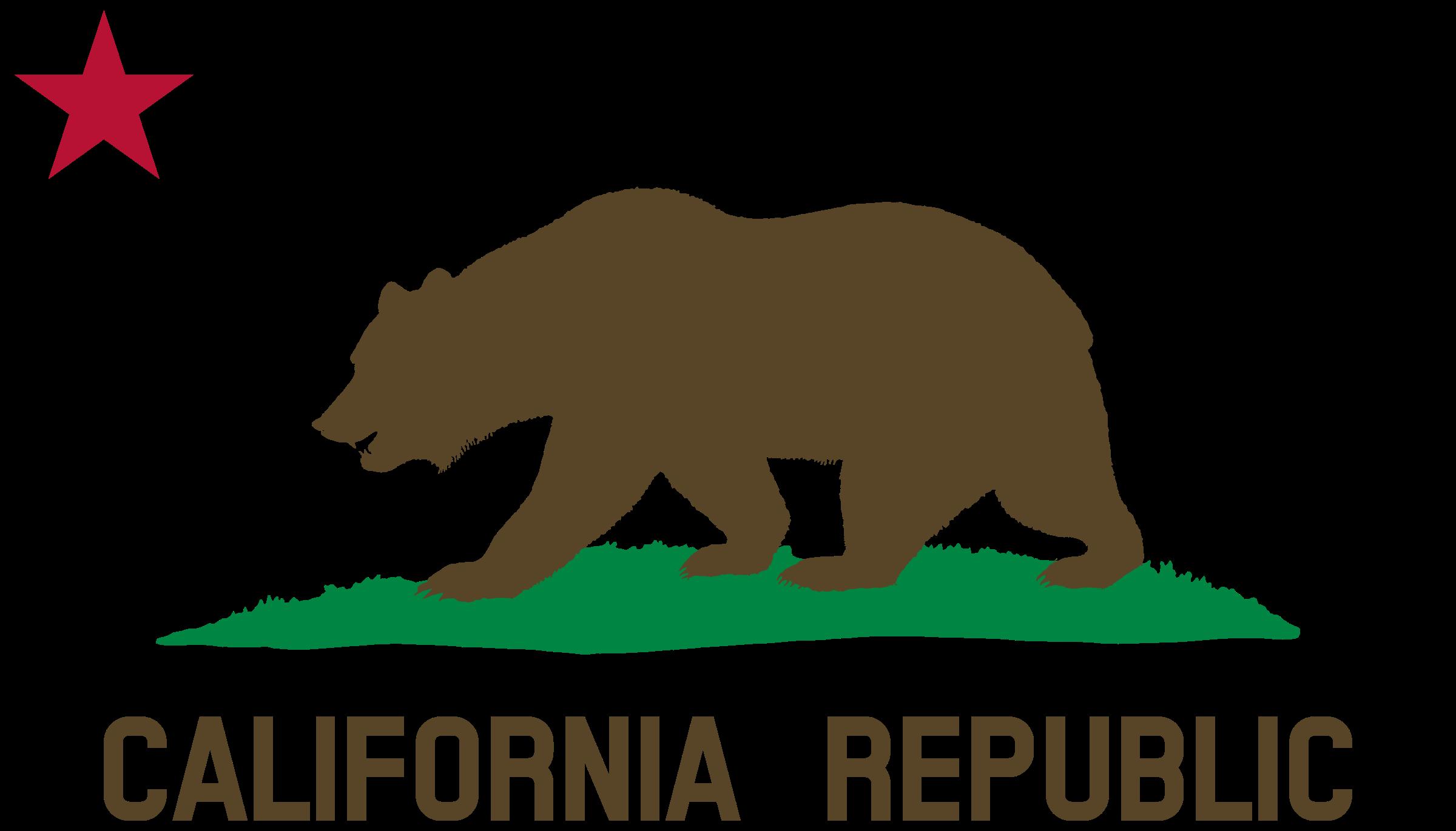 California Bear Logos