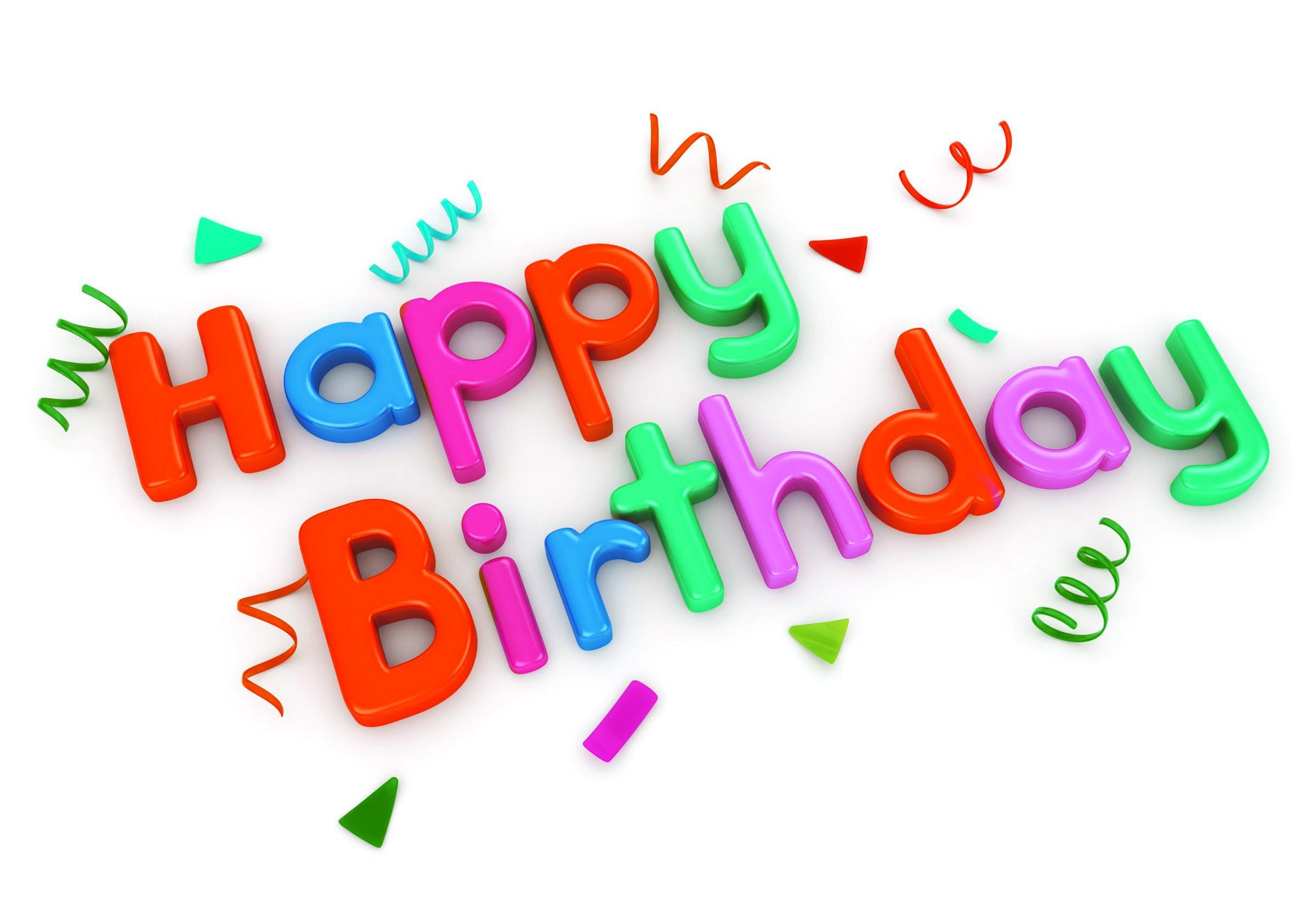 Happy Birthday Logos