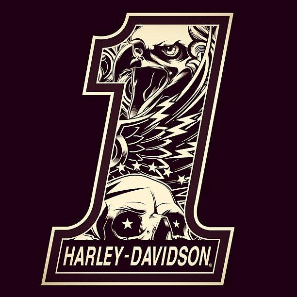 Harley davidson 1 logos - Sigle harley davidson ...