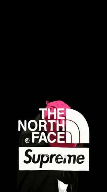 North Face Supreme Logos