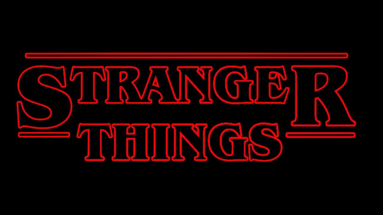 Stranger things Logos