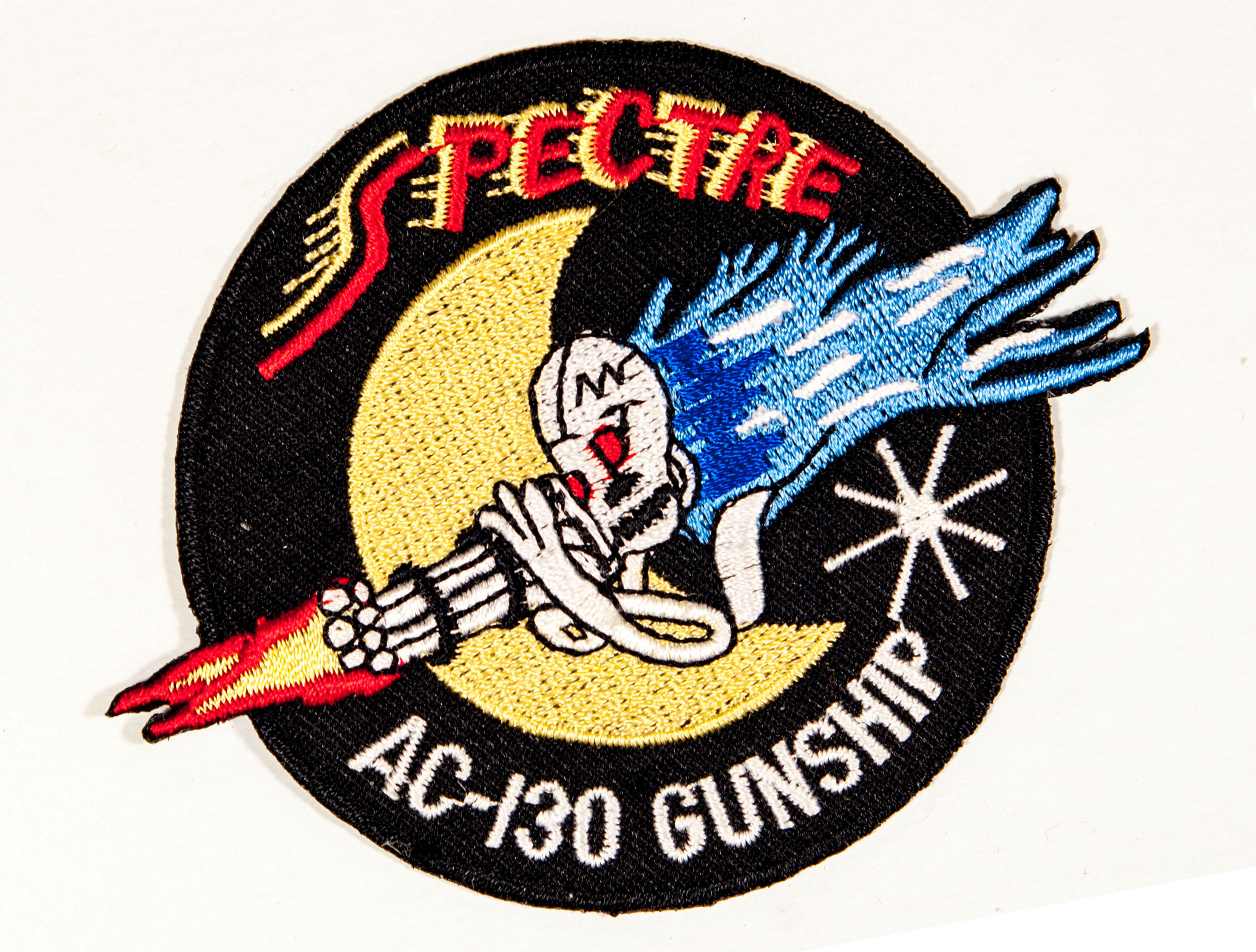 Ac-130 spectre gunship – military patches and pins.