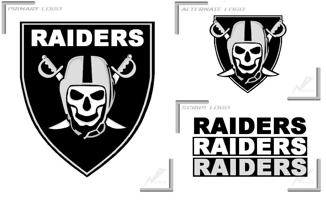 raiders skull logos