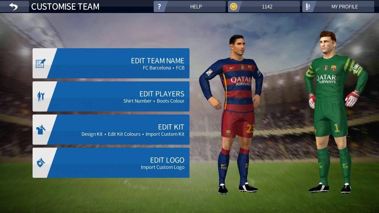 Dream league soccer barcelona players download | Dream