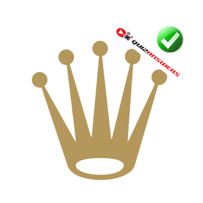 Gold Crown Symbol Logos