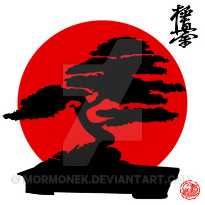 Karate Kid Bonsai Logos