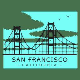 Golden Gate Bridge Logos