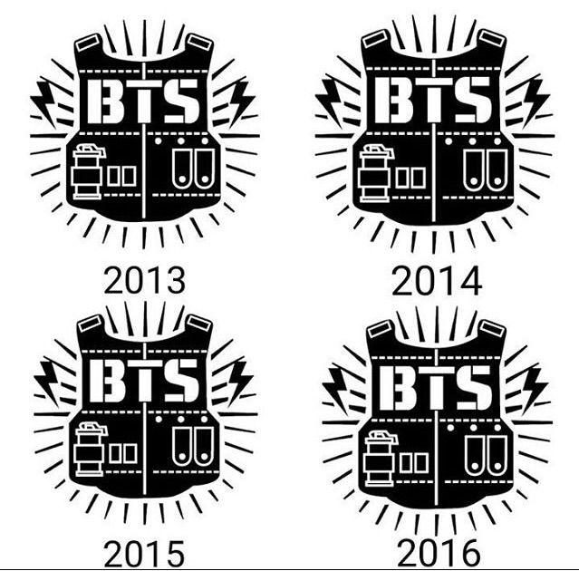 bts old logos