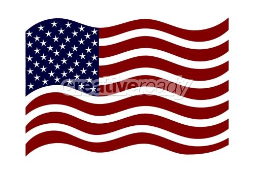 American flag Logos