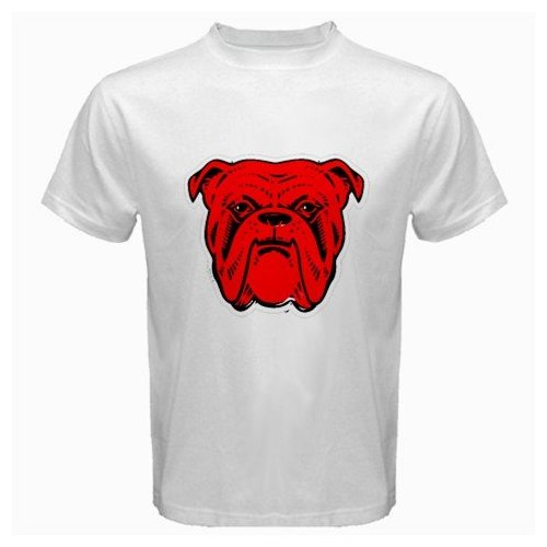 413de708 Amazon.com: Red Dog Beer Logo New White T, shirt Size