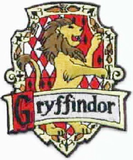 Charming Harry Potter House Of Gryffindor British Logo Embroidered .