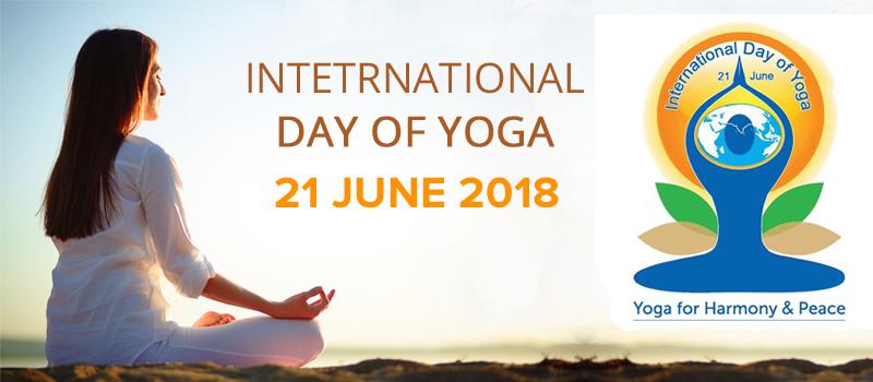 logo of international yoga day international yoga day logo