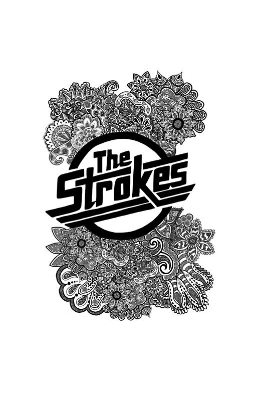 The strokes logos the strokes zentangle logo iphone cases pinterest thecheapjerseys Image collections