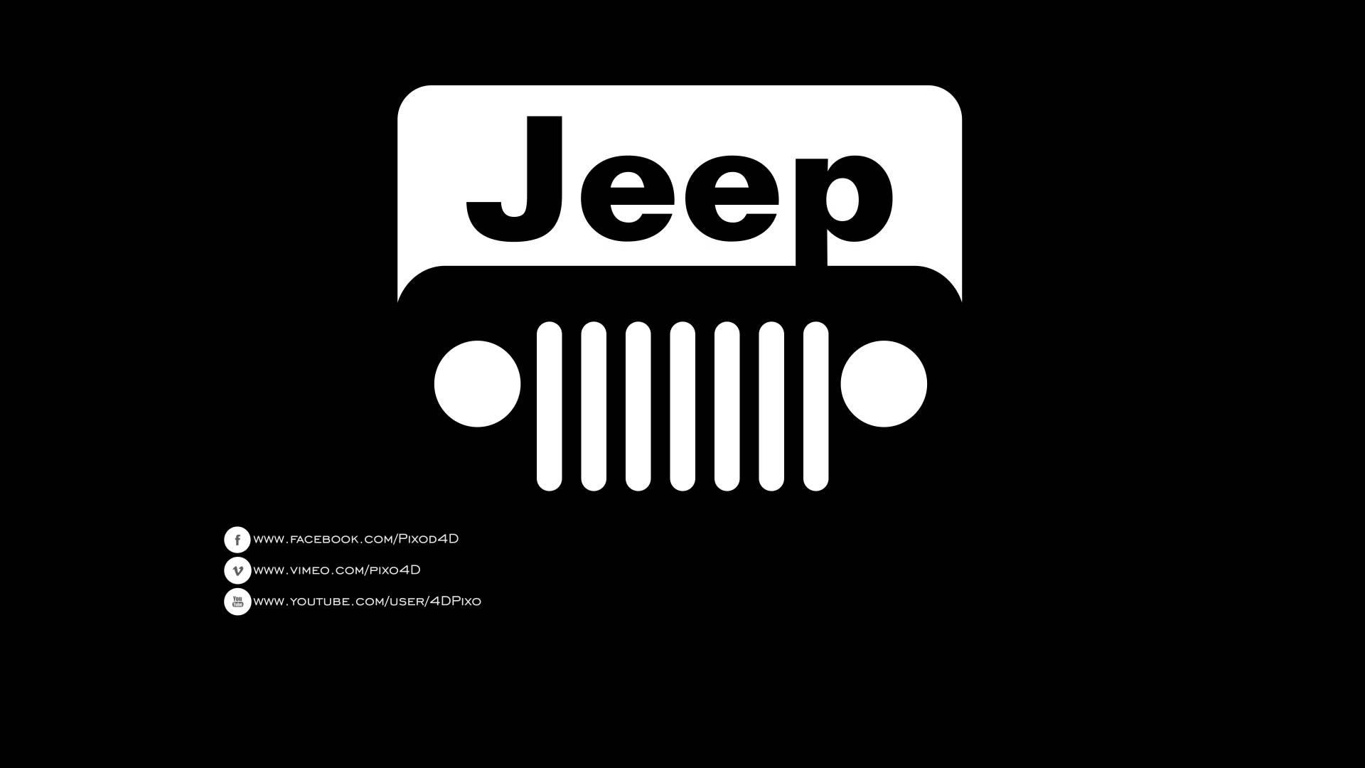 Black jeep Logos
