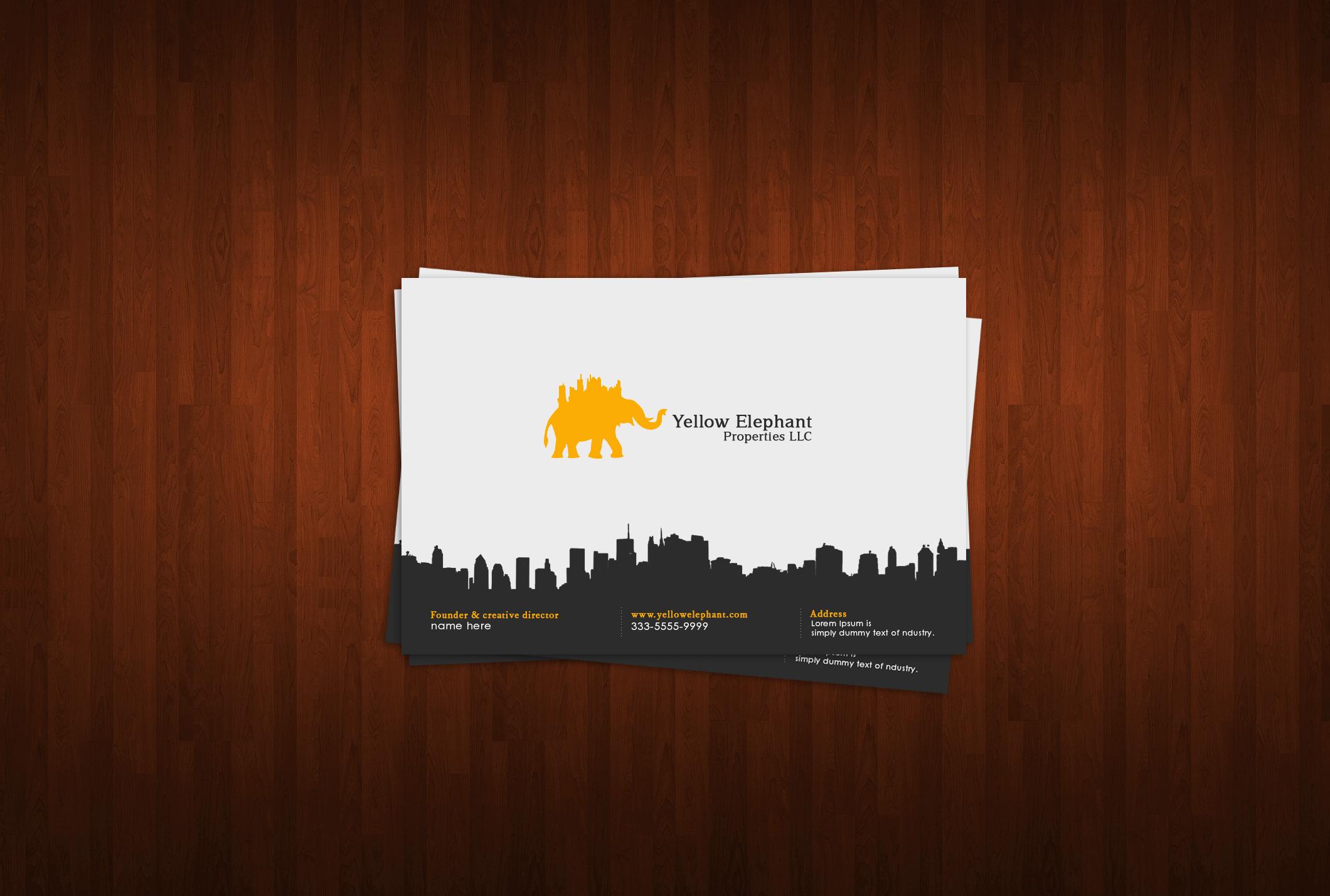 Business card logos colourmoves