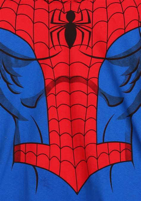 Spiderman chest Logos