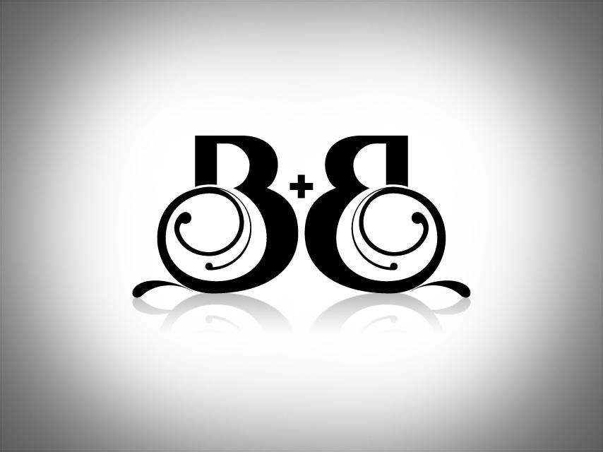 B and b logos for Logo b b
