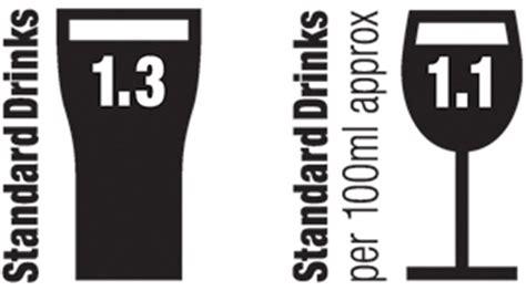 Standard drinks Logos