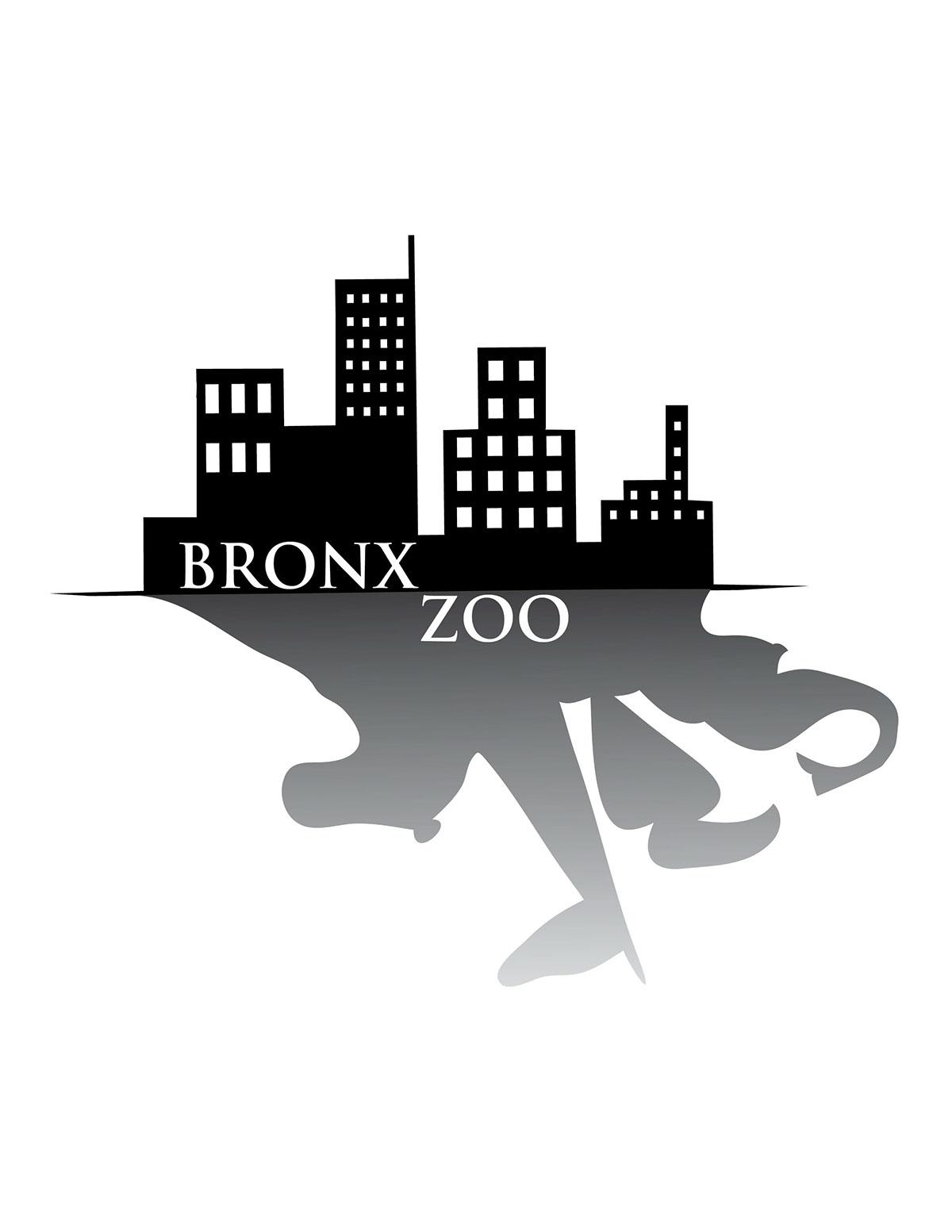 Bronx Zoo Logo Practice on Behance  |Bronx Zoo Logo