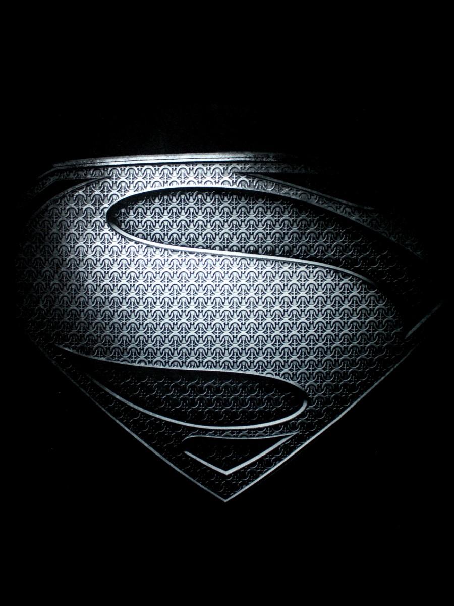 black superman logos