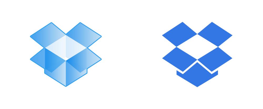 Blue Open Box Logos