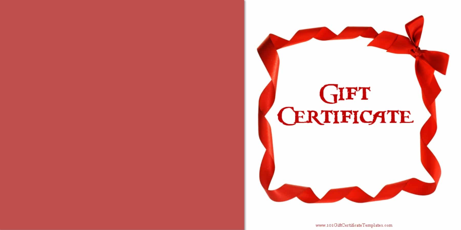 gift certificate template with logos
