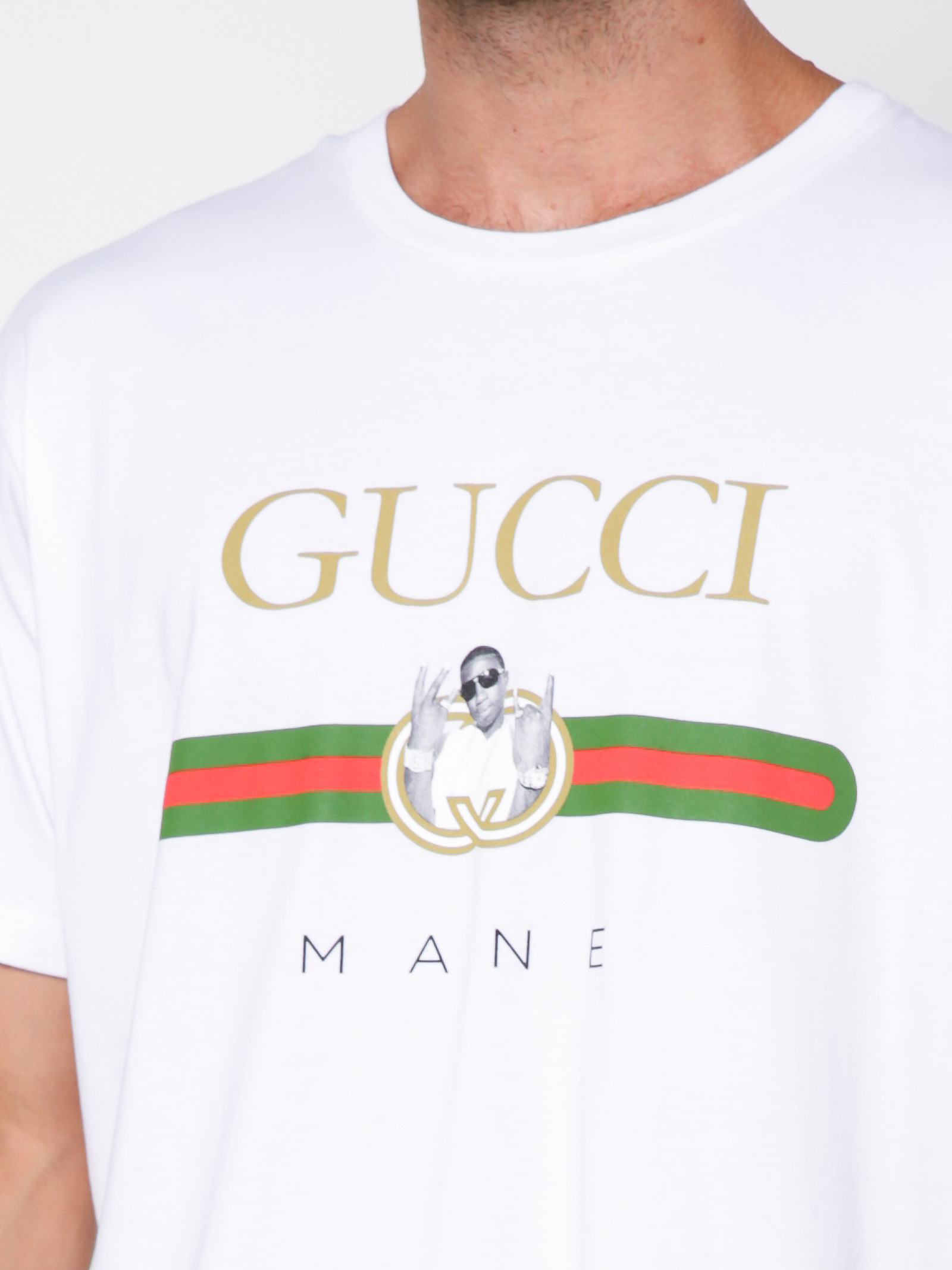 ba17eba1 Paid In Full Vintage Gucci Mane Parody T, Shirt in White