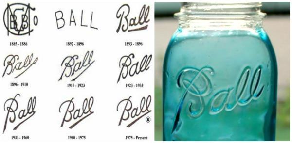Ball Jar Logos