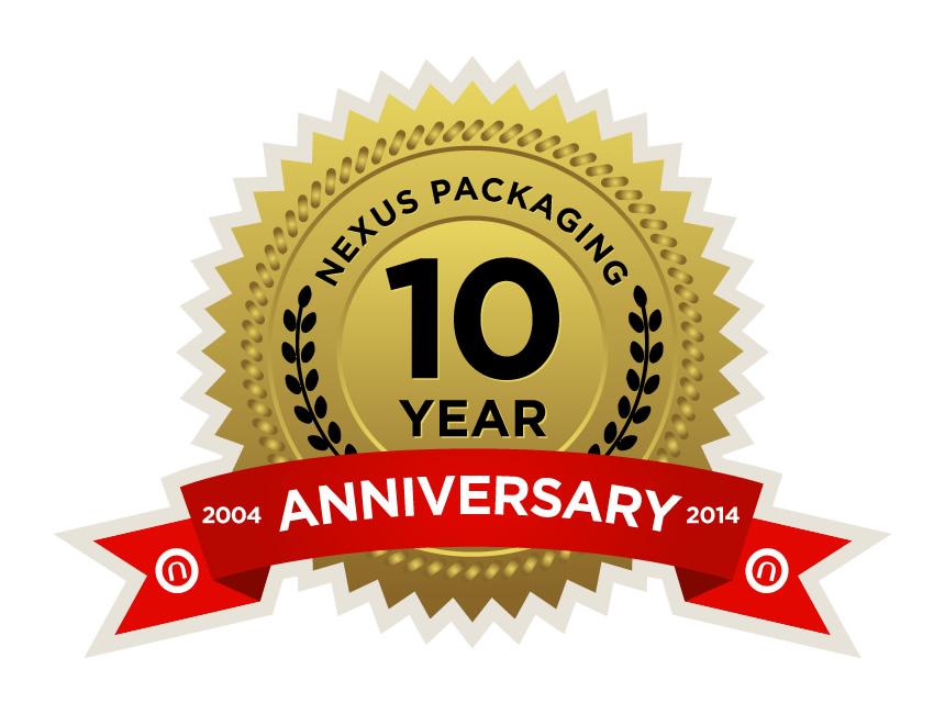 10 Year Anniversary Logos