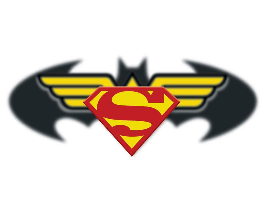 Batman Wonder Woman Logos