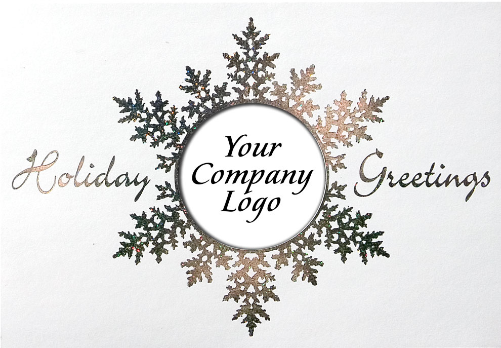 business christmas cards with logos - Business Christmas Cards