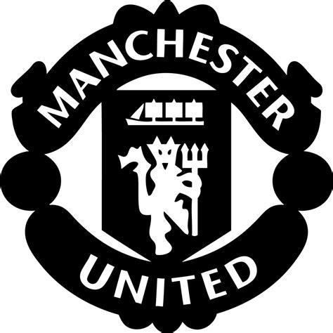 manchester united white logos manchester united white logos