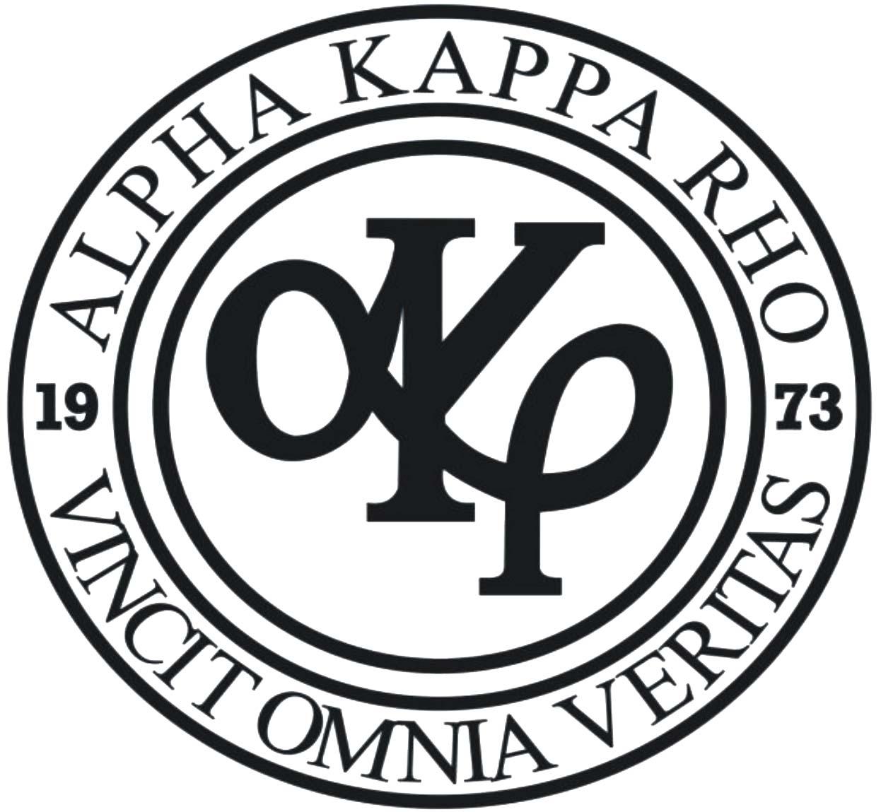Alpha Kappa Rho - Wikipedia