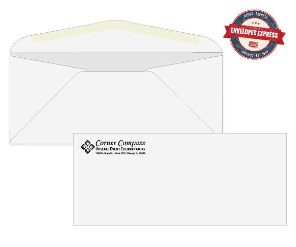 business envelopes with logos