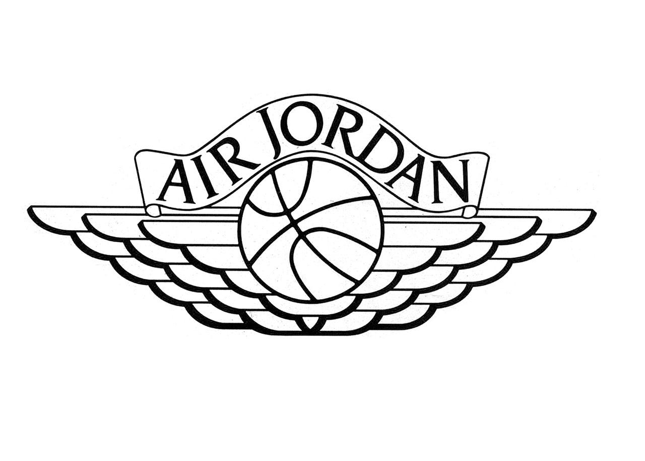 How To Draw Jordan Logos