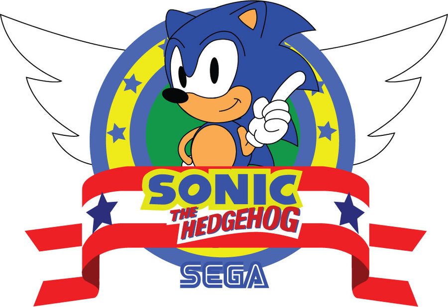 Sonic The Hedgehog Logos