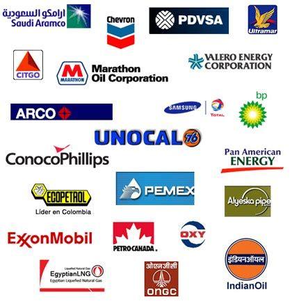 Oil gas company Logos