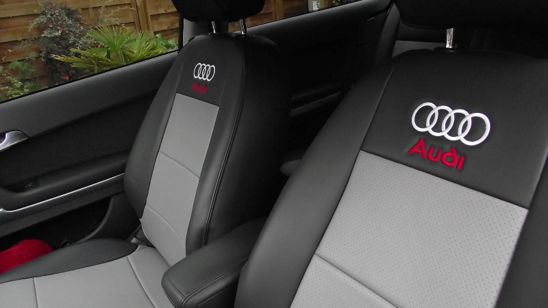 Audi Seat Covers With Logos