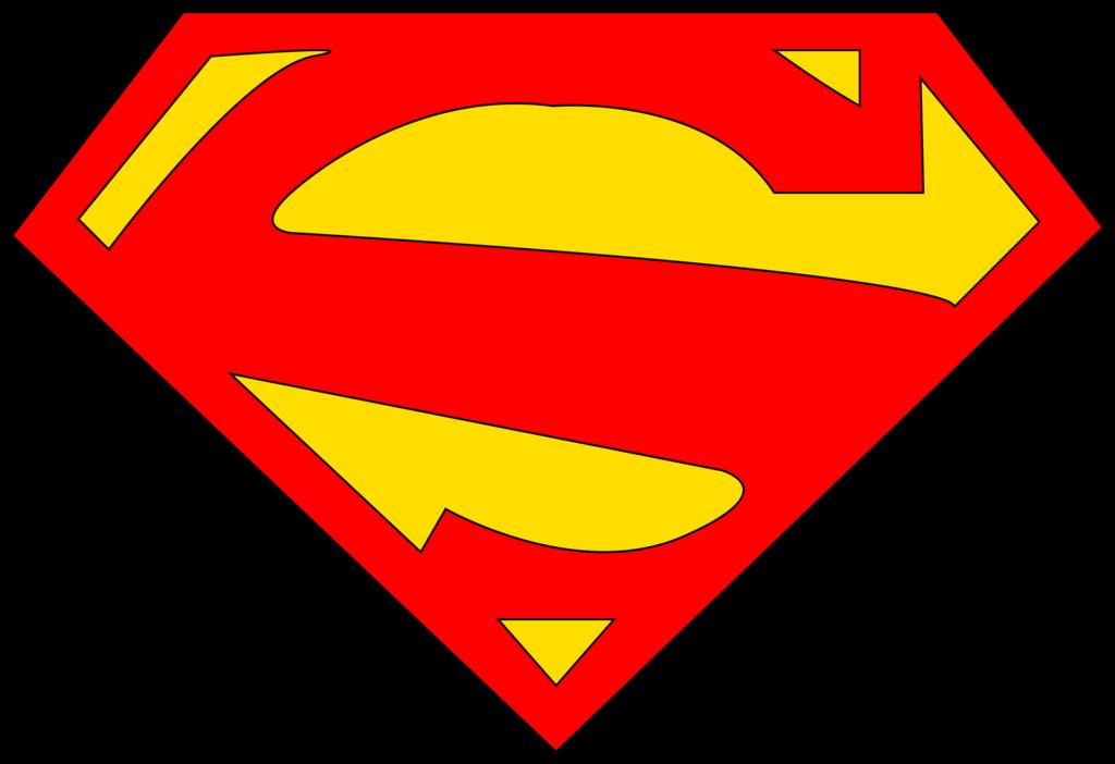 blank superman logos rh logolynx com Empty Shield Logo Superman Triangle